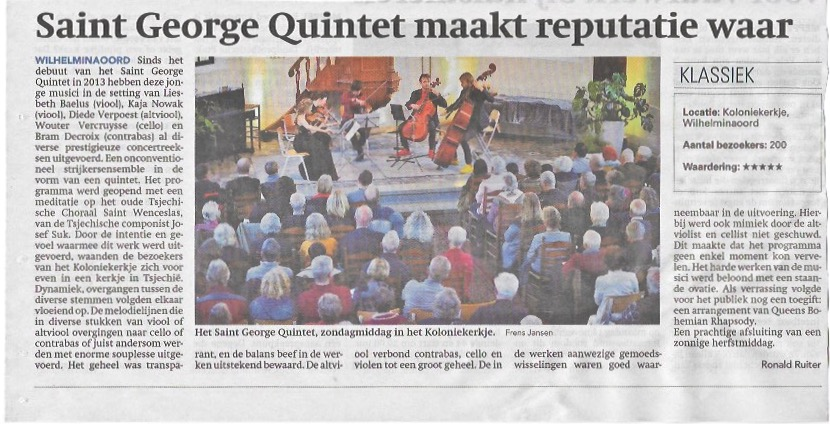 5☆ review Kolonieconcert